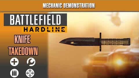 Battlefield Hardline Mechanic Demonstration - All Knife Takedown Animations