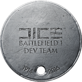 BF1 DICE Dev Team Dog Tag