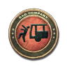 Bronze Transport Vehicle Patch