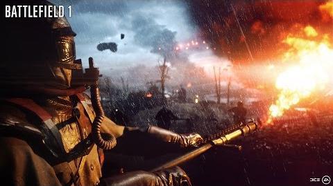 Tráiler del anuncio oficial de Battlefield 1