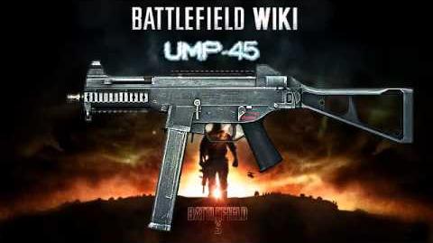 Battlefield 3 - UMP-45 Sound