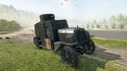 BF1 EV4 Armored Car Front