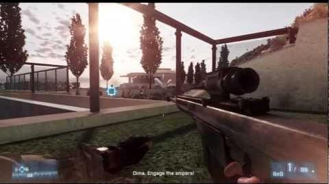 Battlefield 3 Barrett M82 Sniping Gameplay (HD)