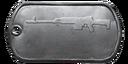 BF4 SVD-12 Master Dog Tag