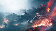 Battlefield V Lightning Strikes Key Art without Logo