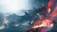 Battlefield V Lightning Strikes Key Art without Logo
