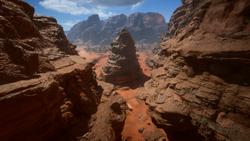 Sinai Desert Jabal Canyon 04