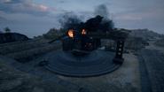 BF1 305-52 O Coastal Gun Destroyed Back