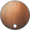 Battlefield 1 Cavalry Back Side Dog Tag