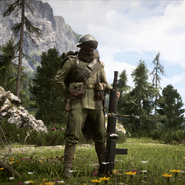Battlefield 1 Kingdom of Italy Support Squad