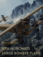 Ilya Muromets Large Bomber Plane Codex Entry