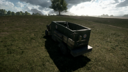BF1 Artillery Truck Mortar Back