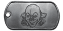 BF4 Evil Clown Dog Tag