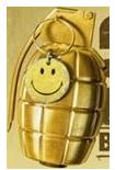 BFBC GOLD FRAG GRENADE