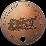 Battlefield 1 Battlefest September 2017 Dog Tag
