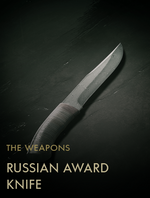 Russian Award Knife Codex Entry