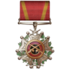 Golden Bullet of the Myrmidon Medal