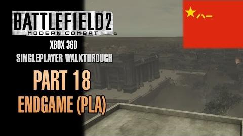 Battlefield 2 Modern Combat Walkthrough (Xbox 360) - Part 18 - End Game (PLA)
