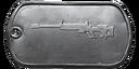 BF4 JNG-90 Master Dog Tag