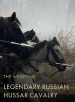 Legendary Russian Hussar Cavalry Codex Entry