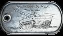 BF3 Tank Superiority Dog Tag