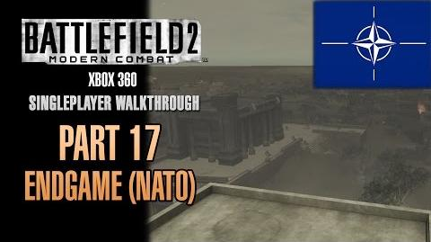 Battlefield 2 Modern Combat Walkthrough (Xbox 360) - Part 17 - End Game (NATO)
