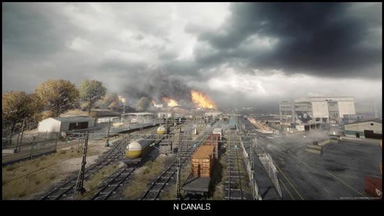 Noshahr-canals