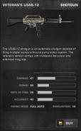 BFP4F Veteran's USAS-12 Stats