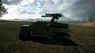 BF1 Artillery Truck Left