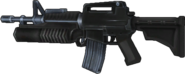 BFH M16-203 Battle Rifle Render 3