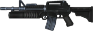 BFH M16-203 Battle Rifle Render 2