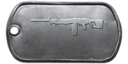 BF4 Type 88 LMG Master Dog Tag