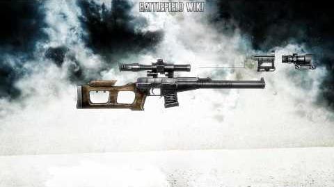 Battlefield Bad Company 2 - VSS Snaiperskaya Special Sound