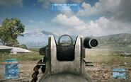 BF3 M240 Iron Sight