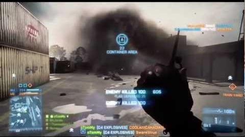 Battlefield 3 - Using C4 Effectively!