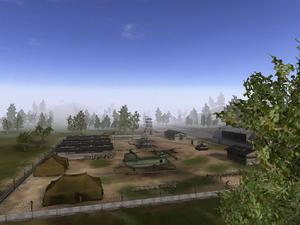 Ia Drang Valley Base