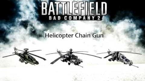 Battlefield Bad Company 2 - Helicopter Chain Gun sounds