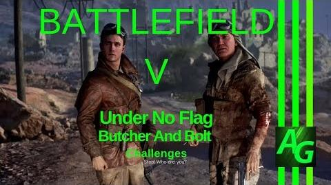 ✪ Battlefield V Under No Flag - Butcher And Bolt - Challenges