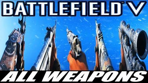 Battlefield V All Weapons - Closed Alpha -