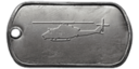 BF4 UH-1Y Venom Master Dog Tag