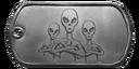 BF4 Alien Trio Dog Tag