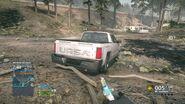 Pickup Truck Rear 2