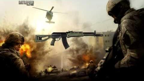 Battlefield Play4Free - AEK-971 Sound