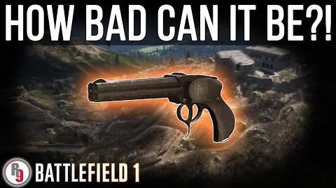 Least used Assault class Sidearm in Battlefield 1?