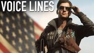Battlefield 5 - Steve Fisher Elite Voice Lines