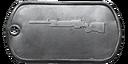 BF4 M40A5 Master Dog Tag