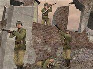 Battlefield 1942 SCOUTING THE RUBBLE