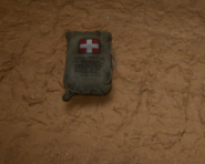 Medkit on the ground