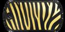 BF4 Premium Zebra Stripe Dog Tag