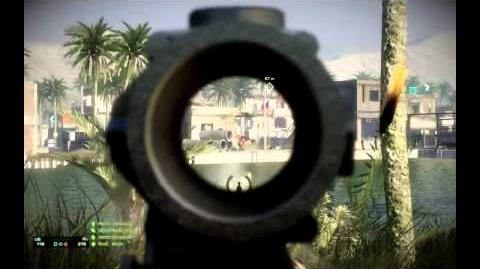 AK-74U Gameplay and Review (Bad Company 2)